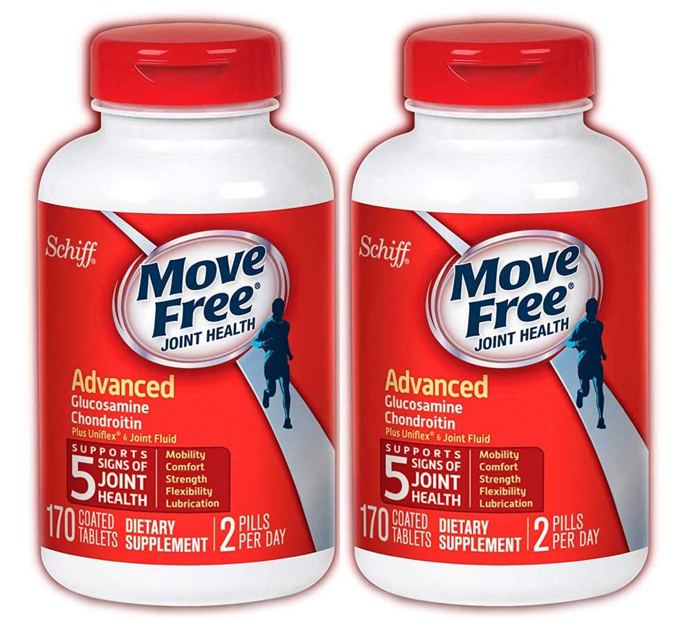 Move Free Advanced Triple Strength, 340 Count Two Packs of 170