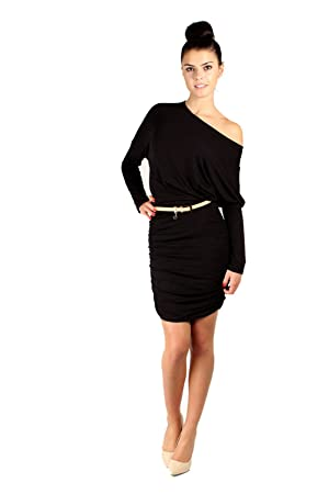 Vestido negro minifalda
