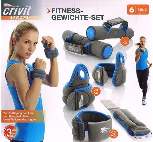Crivit sports Fitness pesas juego - soft dumbbellobject, muñeca-manguitos y tobillo-es: Amazon.es: Deportes y aire libre