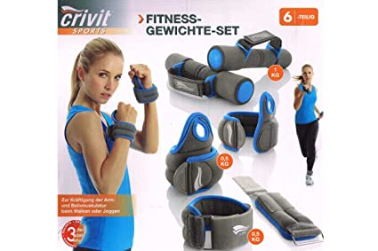 Crivit sports Fitness pesas juego - soft dumbbellobject, muñeca-manguitos y tobillo-es