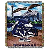 #7: The Northwest Co NFL 051 Dolphins Helmet Woven Tapestry Throw