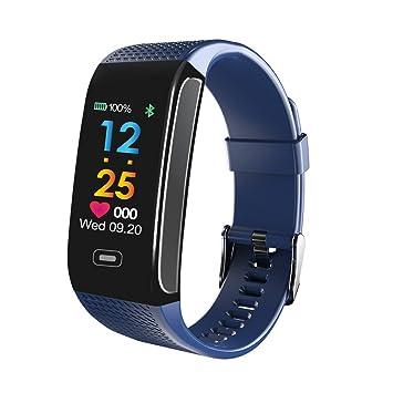 Montre Connectée Podometre Smartwatch Bracelet Connecté Écran Couleur Etanche IP67 Femme Homme Enfant Sport Cardio Fitness