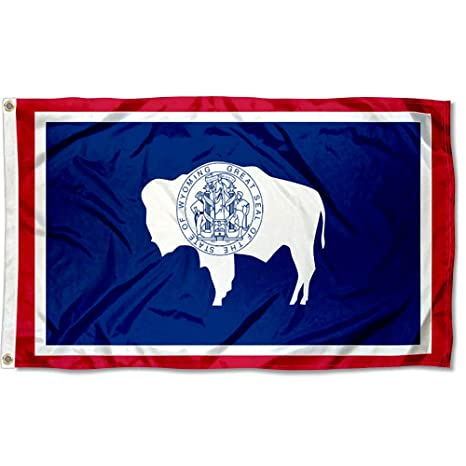 Amazon com: Sports Flags Pennants Company State of Wyoming