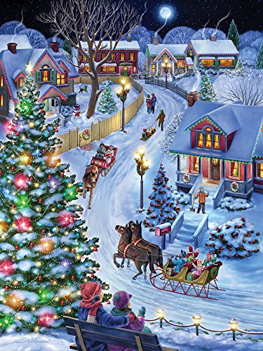 Vermont Christmas Company Jingle All The Way Jigsaw Puzzle 550 Piece