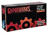 AMMEX - INPF49100-BX - Nitrile - Gloveworks - Disposable, Powder Free, Industrial, 5 mil, XXLarge, Blue (Box of 100)