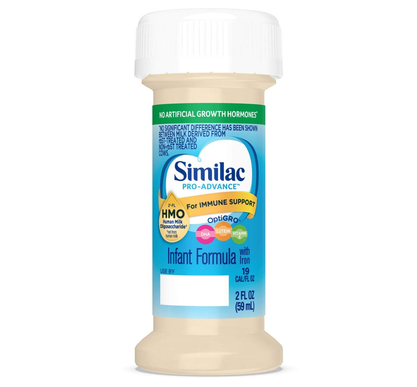 Similac Pro-Advance Infant Formula with 2'-FL HMO for Immune Support Ready to Feed Newborn Bottles, 2 fl oz (Special Discount Offer) (24 by Similac (Image #1)