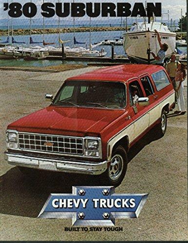 1980 Chevrolet Suburban sales brochure