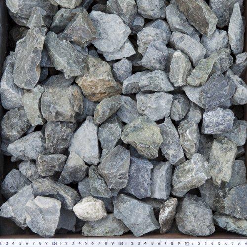 青砕石 40-100mm 20kg(10.5L)×30袋セット 【600kg】【3号砕石】【ロックガーデンにお勧めします!!】 B009ZOWY5Q 600kg  600kg