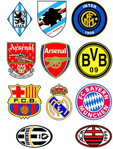 Europen Cup Football Lockers Luggage Case Mirrors Vinyl Car Stickers in one A4 Page Code F0027 (Locker Fridge Battery Power compare prices)