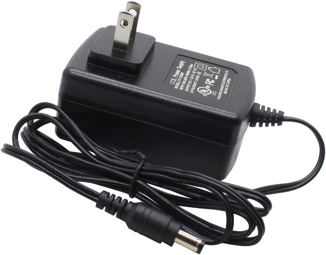 AC to DC 12V 2A Power Supply Adapter 5.5mm x 2.1mm for CCTV Camera DVR NVR UL Listed FCC