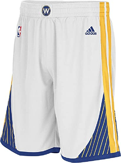 25e52414c NBA Golden State Warriors Youth Boys 8-20 Replica Home Shorts, Large (14