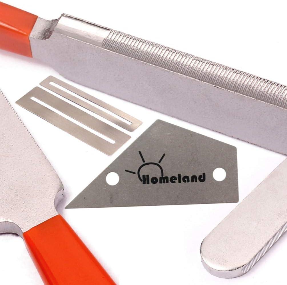 Artibetter fichier fret kit doutils de luthier Guitare couronnement luthiers tracasser protecteurs Guards Touche /à Bascule