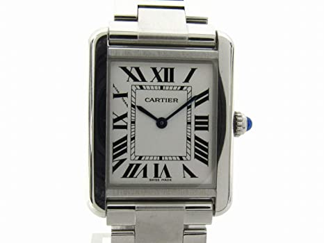 premium selection 28a7c 00fe2 Amazon | [カルティエ] Cartier タンク・ソロ ウォッチ 腕時計 ...