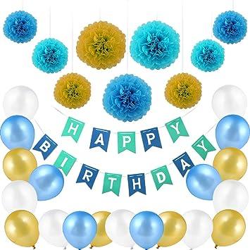 Nomisty Decoración de cumpleaños, cumpleaños Infantiles ...