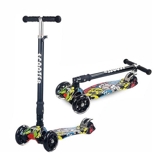 scoolr Scooters patinete de para niños Deluxe 4 Rueda easy ...