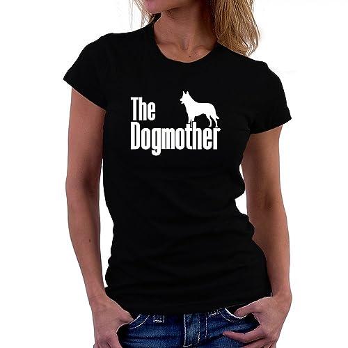 Teeburon The dogmother Belgian Malinois Camiseta Mujer