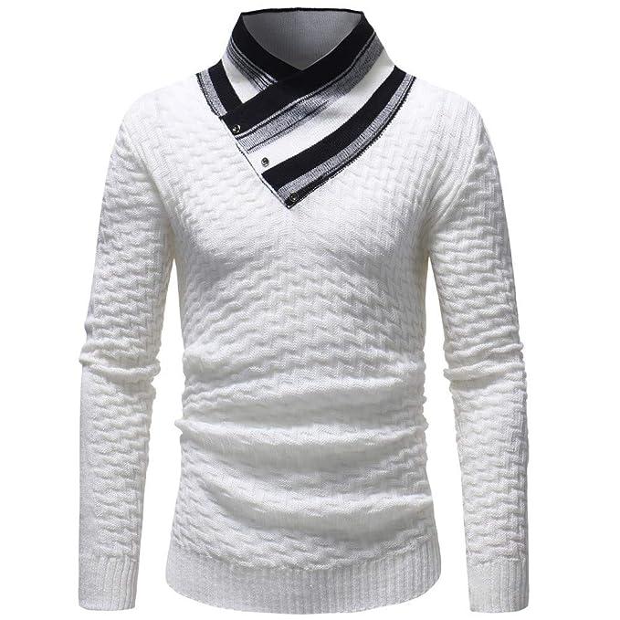 Naturazy Sueter Slim Fit Camisa Larga Patrones Que Hacen Punto Muy Moderno Y Elegante OtoñO Invierno