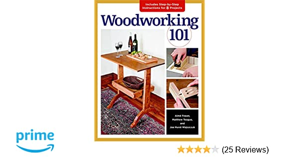 Woodworking 101 Skill Building Projects That Teach The