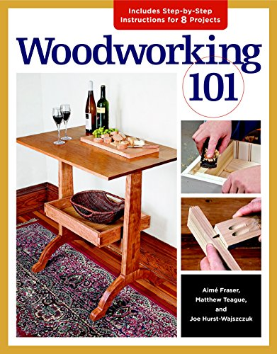 Wood Furniture Making (Woodworking 101: Skill-Building Projects that Teach the Basics)