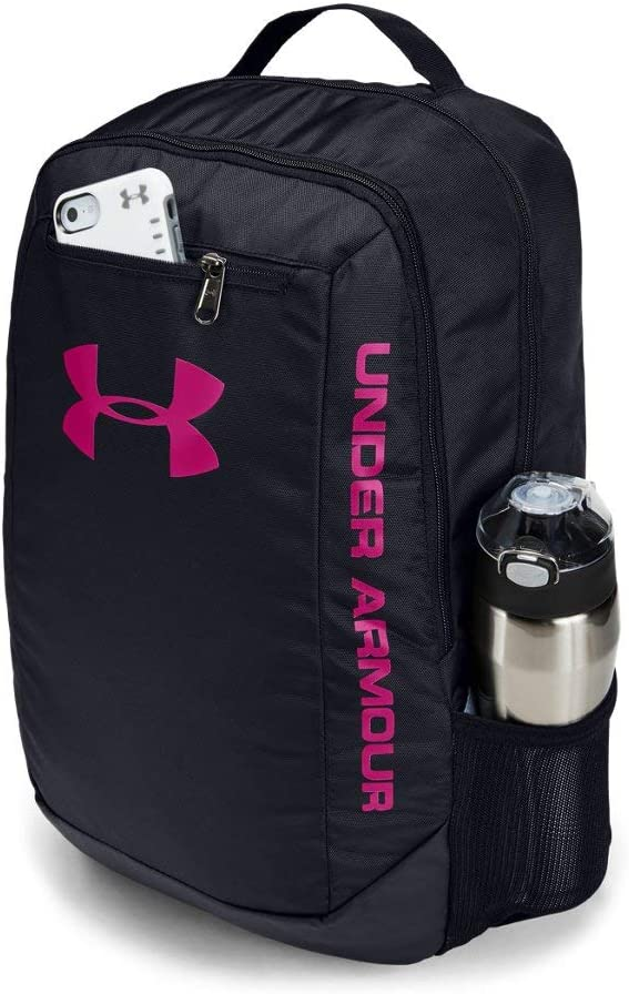 Under Armour Men's Practical Waterproof Bag with Laptop Storage, Black, us:one size