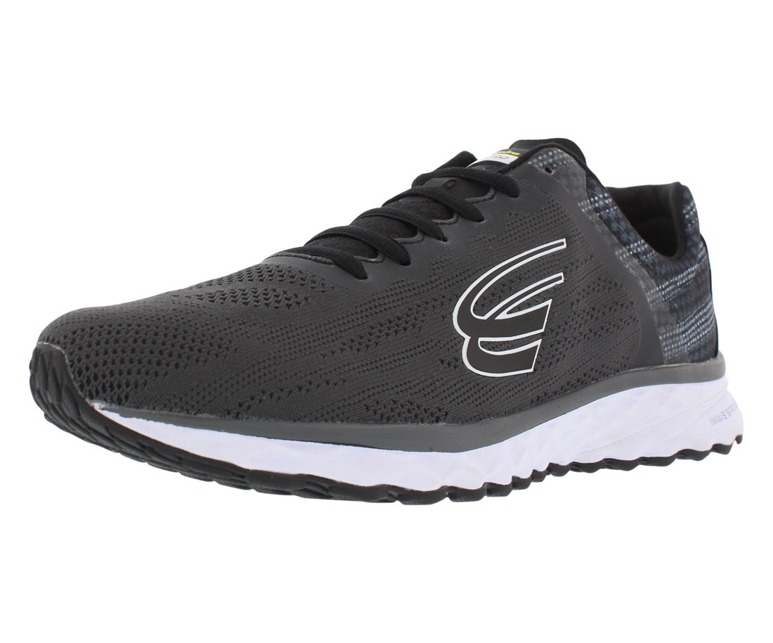 Spira Vento Running Men's Shoes B07B9N7WWQ 7 D(M) US|Charcoal / Black / White