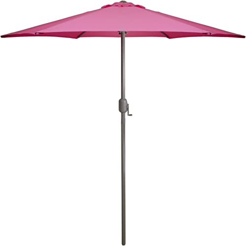 Northlight 7.5ft Outdoor Patio Market Umbrella