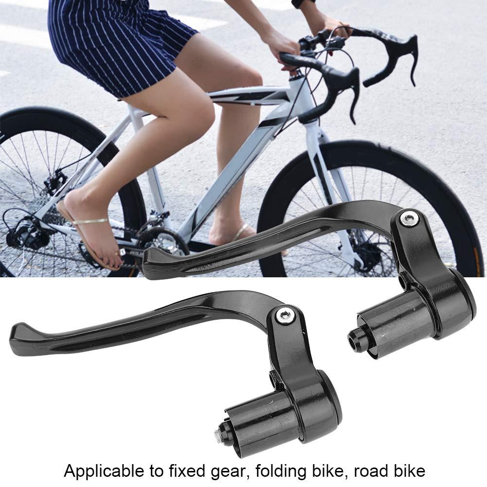 Manetas Aleaci/ón de Aluminio para Manillar de Bicicleta de 19 a 21 mm Keenso Maneta de Freno de Bicicleta
