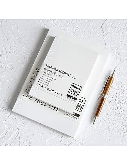 ZXSH Cuaderno Agenda De Llenado Mensual Semanal, Sin Fecha ...