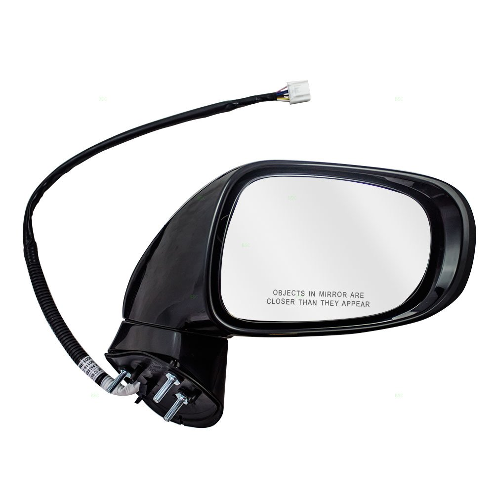 Passengers Power Side View Mirror Heated Signal Puddle Lamp Memory Replacement for Lexus 87910-33881-C0