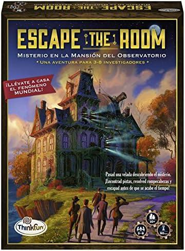 Think Fun- Escape Room Misterio en la mansión del observatorio (Ravensburger 76314): Amazon.es: Juguetes y juegos
