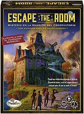 Think Fun- Escape Room Misterio en la mansión del observatorio ...