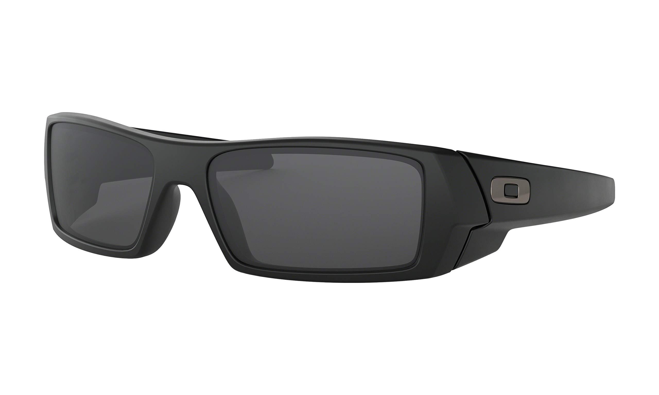 Oakley Gascan Suglasses Matte black with Grey Lens by Oakley