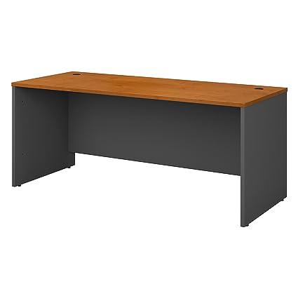 BUSH INDUSTRIES - Caja de escritorio (77 W), color cereza ...