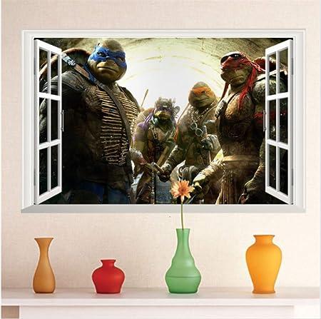 hzcl Dibujos Animados Adolescente Mutante Ninja Tortugas ...