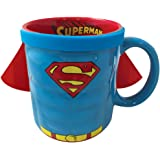 ICUP 7574 DC Superman Molded Caped Mug, Multicolor