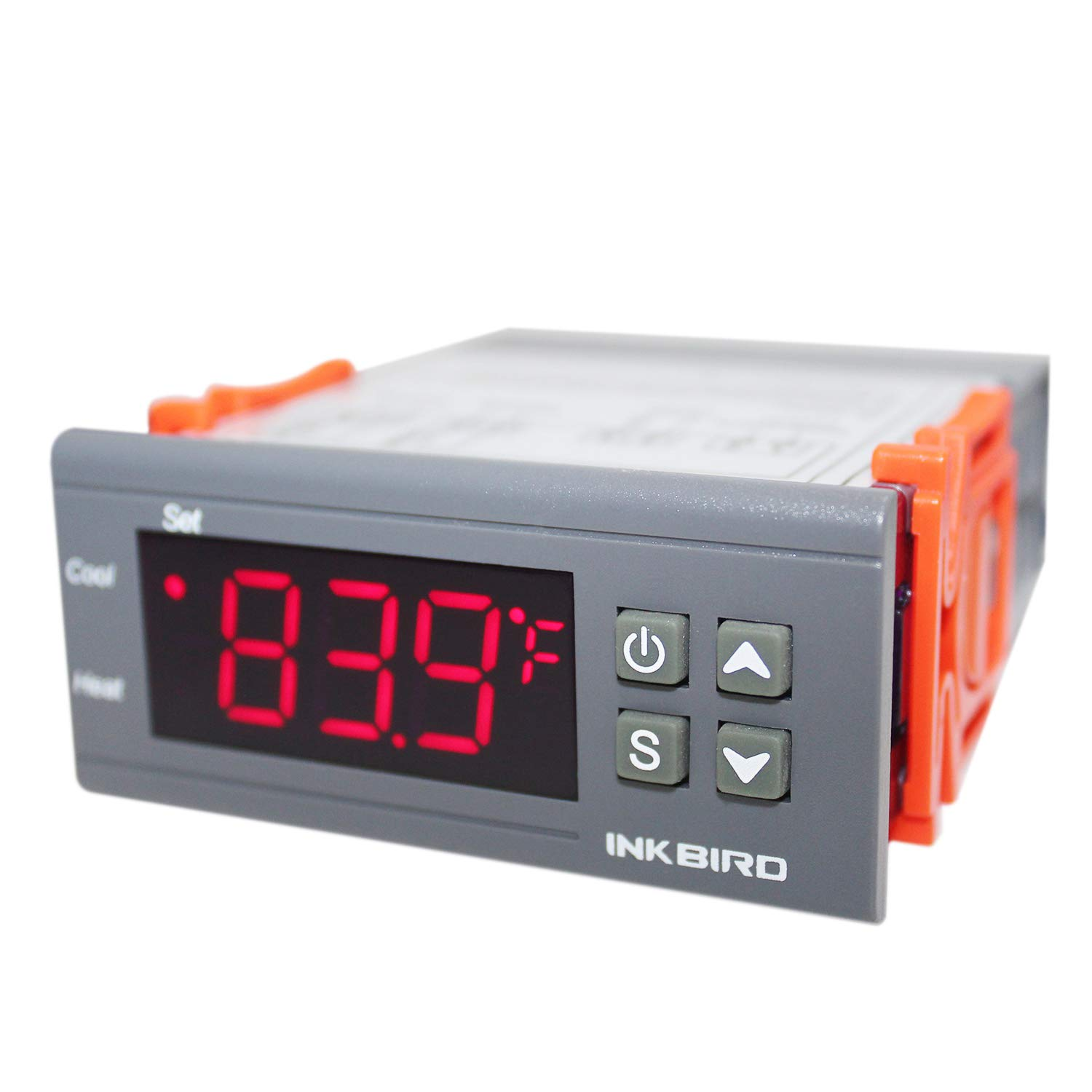 Intelligent Temperature Switch Temperature Controller Kits Solar Water Heater Temperature Controller Thermostat with Sensor Digital Display
