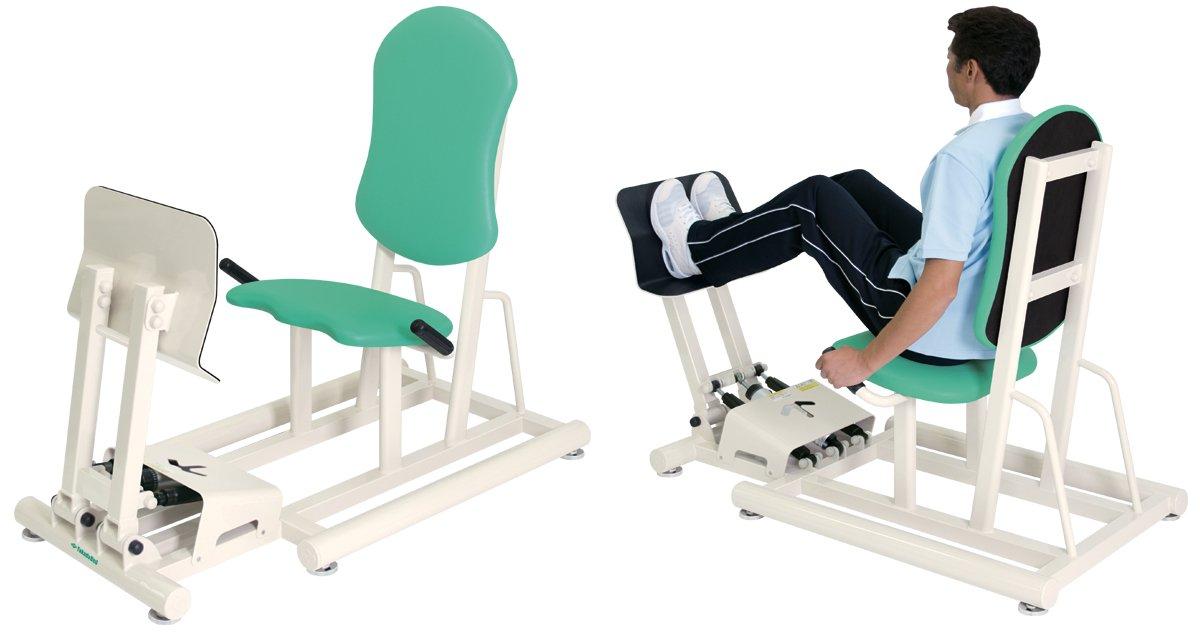 【受注生産品】高田ベッド レッグプレス II (両足の運動) TB-1215  ライトブルー B01BS9H12Q