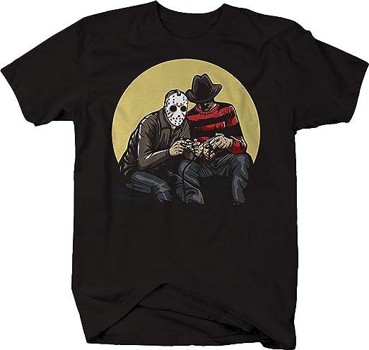 XLDN-T-shirts Camisetas de Terror y Villanos de la película de ...