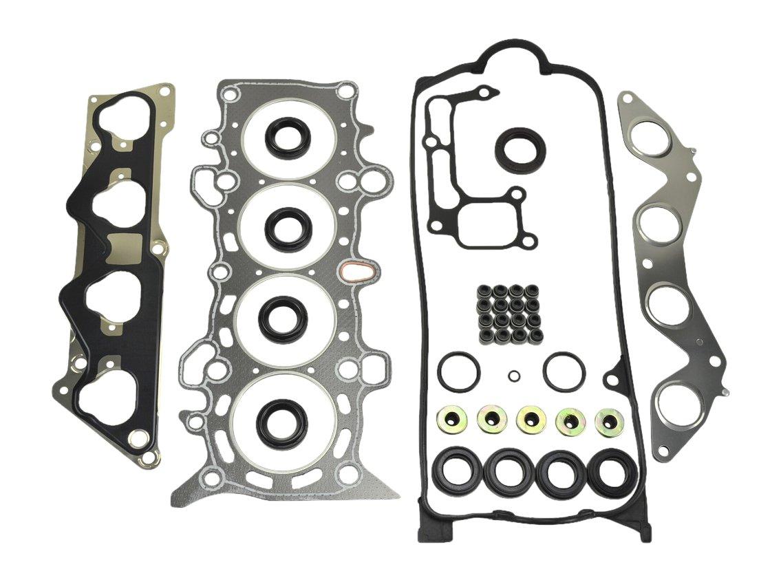 ITM Engine Components 09-11813VC Cylinder Head Gasket Set for 2001-2005 Honda 1.7L L4 Vtec/Vtec-E, D17A, Civic