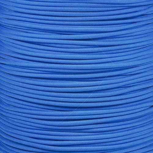 Paracord Planet 550 Cord Type III 7 Strand Paracord 100 Foot Hank - Colonial Blue