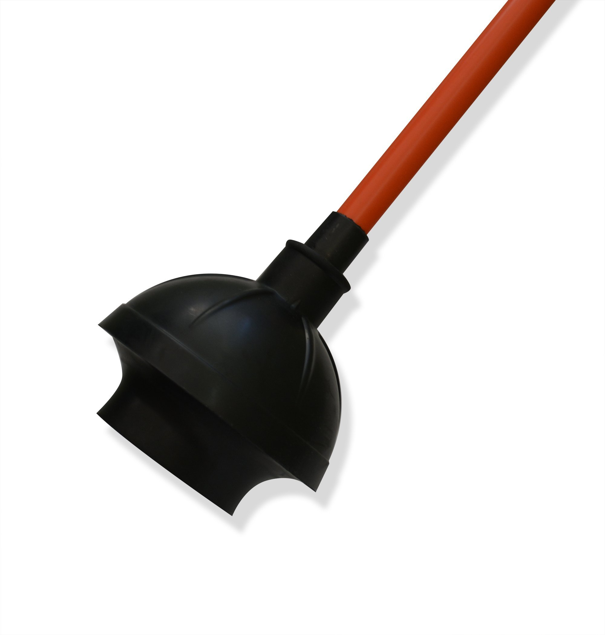 Get Bats Out Rubber Toilet Plunger for Bathroom, Sink & Drain Clogs - Use in Homes, Commercial & Industrial bldgs