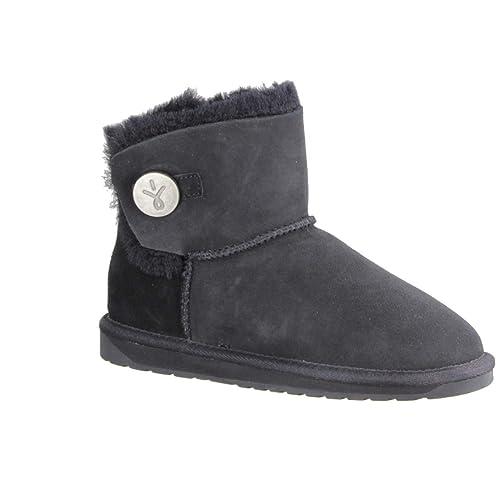EMU Denman Mini Black, Botas de Nieve para Mujer: Amazon.es: Zapatos y complementos
