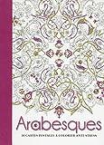 Arabesques - 20 cartes postales à colorier anti-stress