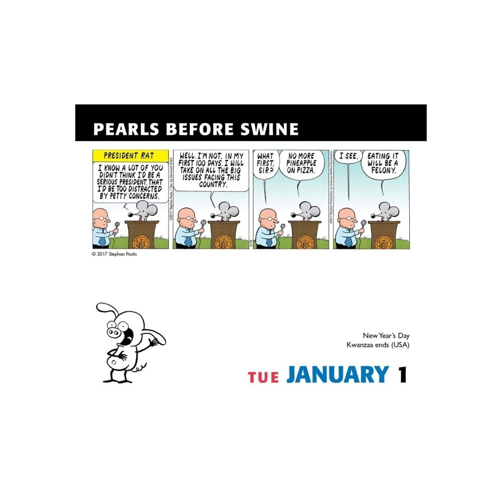 Amazon.com: Pearls Before Swine 2019 - Calendario diario de ...