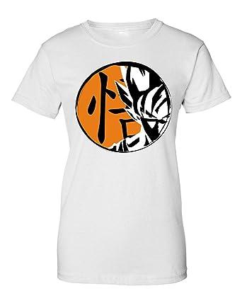 Wicked Design Dragon Ball Z Goku Saiyan Portrait Camiseta de ...