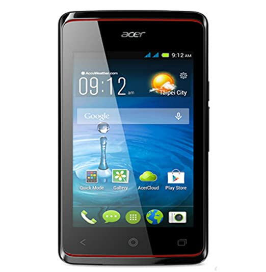 Acer Liquid Z200 Android 44 Dual SIM 4 Inch Display RAM 512