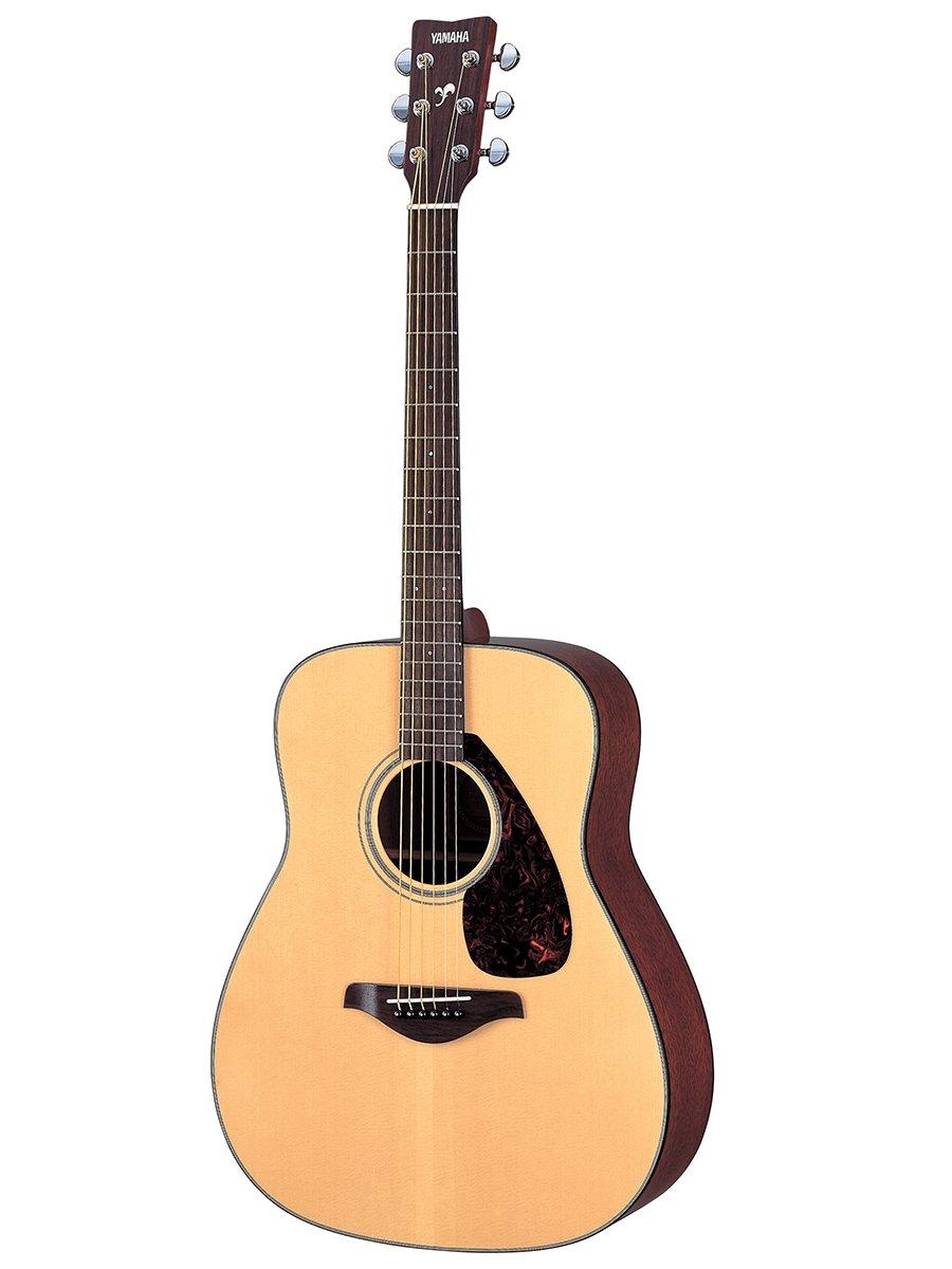 Yamaha FG700S Folk Acoustic Guitar Bundle - best beginner guitar under 300