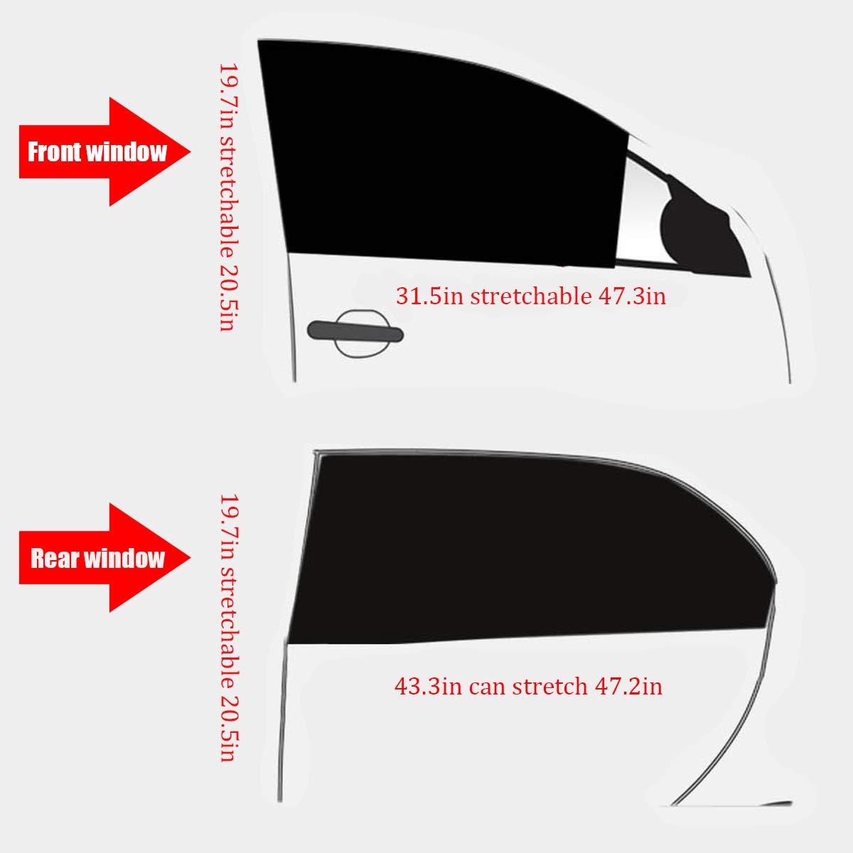 Privacy,Adatto per la Maggior Parte Delle Auto Insetti Raggi solari UV 4Pcs Parasole Auto ASTARC Tendine Parasole Auto Bambini,Universali Parasole Auto for Protezione Bambini