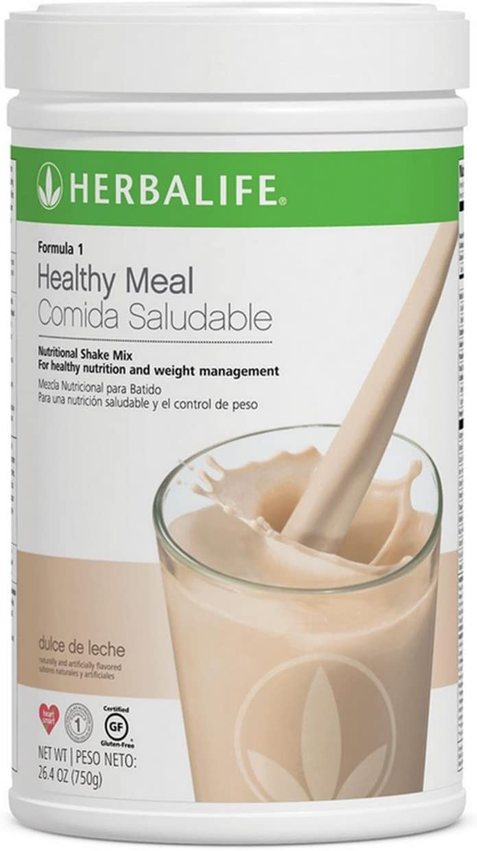 Herbalife Formula 1 Healthy Meal Nutritional Shake Mix (10 Flavor) (Dulce de Leche)