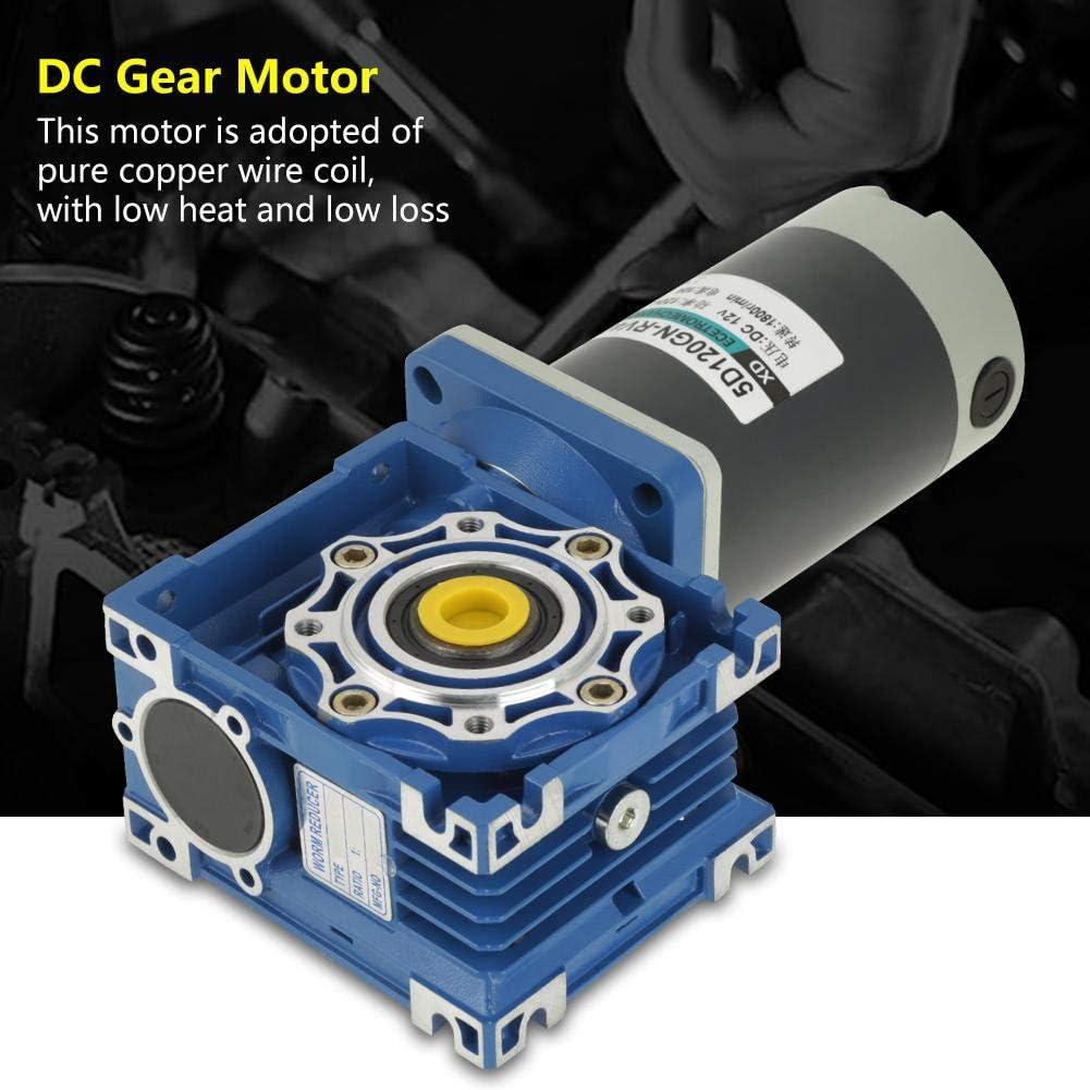 120W RV40 5D120GN-RV40 Motor/éducteur /à vis sans fin 12V//24V 15K Vitesse r/églable CW//CCW Motor/éducteur avec verrouillage automatique 12v Motor/éducteur /à courant continu